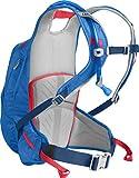 CamelBak Women's Solstice 10 LR Crux Lumbar Reservoir Hydration Pack, Carve Blue/Fiery Coral, 3 L/100 oz