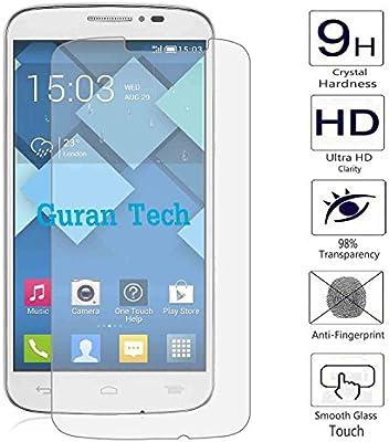 2 x Guran® Protector de Pantalla Vidrio Cristal Templado Para Alcatel One Touch Pop C7 7041D (5pulgada) Smartphone Film: Amazon.es: Electrónica