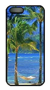 Kauai Beach Custom iPhone 5s/5 Case Cover Polycarbonate Black by mcsharks