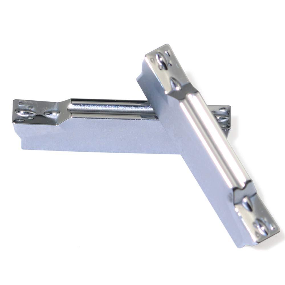 Boeray 10pcs MGMN400-M D01 CNC Lathe Carbide Insert Cutting Tools for Aluminum Alloy Processing