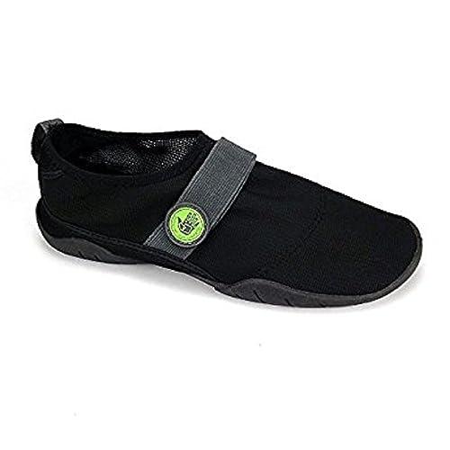 099c49558cbac Amazon.com | Body Glove Classic Black Neon Green Men's Water Shoes ...