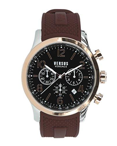 Versus by Versace Men's 'Naboo' Quartz Gold Fashion Watch(Model: VSPEC0518)