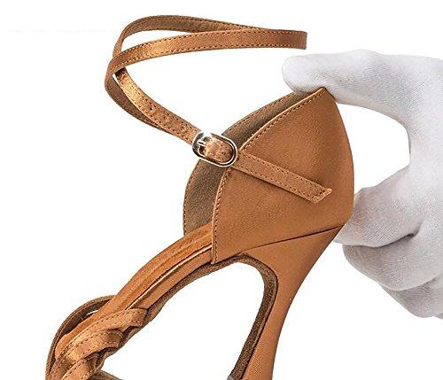 Latin A Women's Bottom Heel Shoes Ladies Ballroom Ballroom GUOSHIJITUAN High Shoes Shoes Dance Dancing Soft Dance Shoes 5fHWa