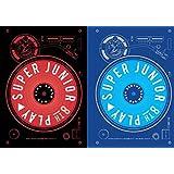 [サイン写真付] Super Junior 8集 PLAY (2枚セット) [+公式丸筒ポスター][+サインPOLAROID写真][+ポストカード][+ステッカー]