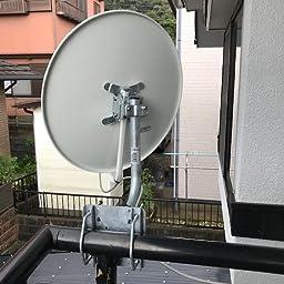 Amazon Co Jp 日本アンテナ アンテナ取付金具 Bk 32zr 産業 研究開発用品