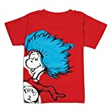 Bumkins Dr. Seuss Short Sleeve Toddler Tee, Thing 2, 24 Months