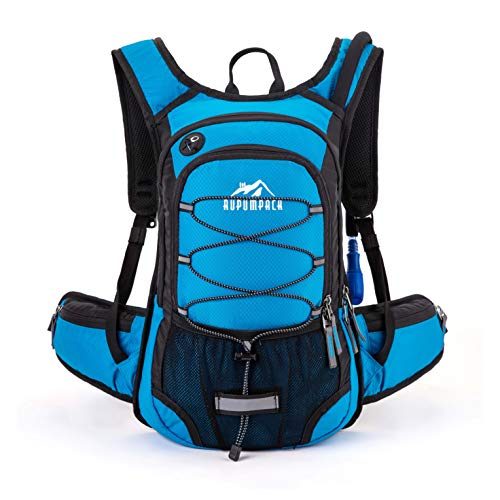 RUPUMPACK Insulated Hydration Backpack Pack with BPA Free 2L Water