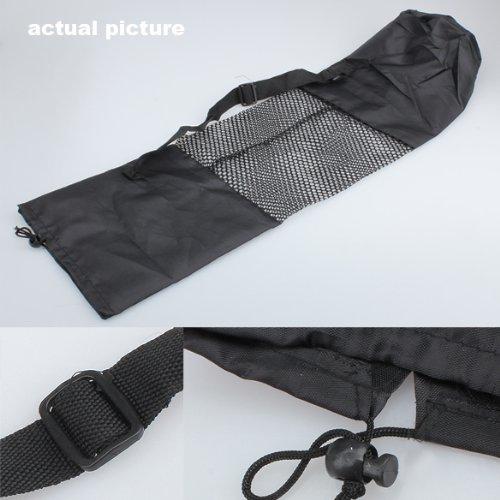 broadroot Yogamatte verstellbar Nylon Transporttasche Fitness Matte Mesh Center schwarz Taschen