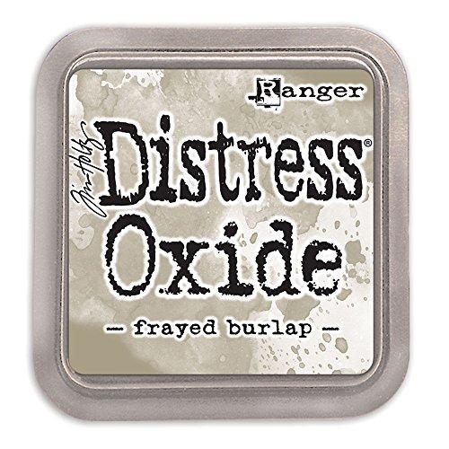 Distress Ink Frayed Burlap (Ranger Tim Holtz Distress Oxide Ink Pad - Frayed Burlap)