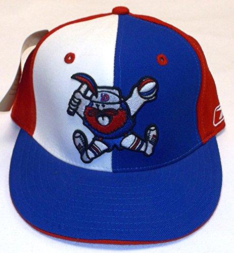 (Denver Nuggets Alternating Pinwheel Fitted Reebok Hat - 7 1/8)