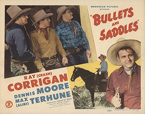 Bullets and Saddles 1948 Authentic 11