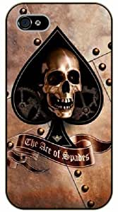 iPhone 6 Skull, the ace of spades - black plastic case / hipster, tribal