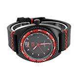 Mens Red Black Watch Sports Edition Classy Ice Master Analog Jojino Jojo Look