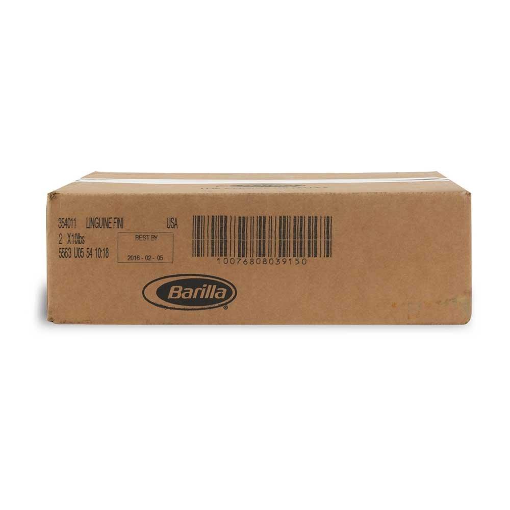 Linguini Fini Pasta,10 Pound - 2 Case