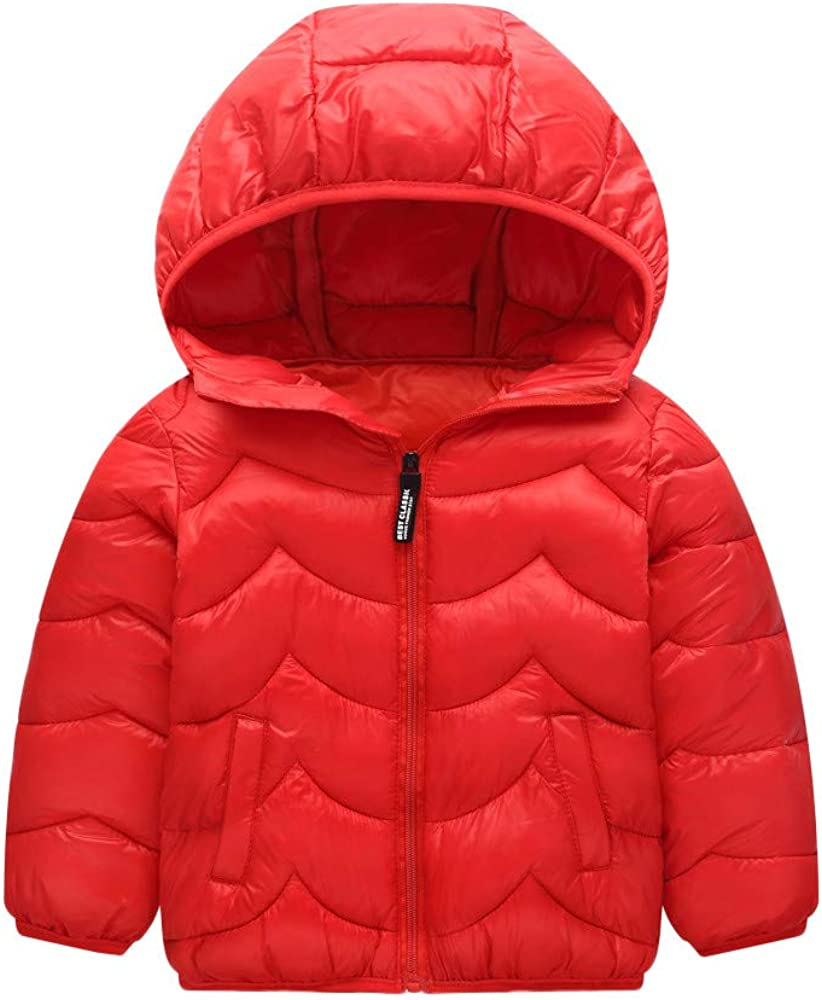 Baby Kids Hooded Cloak Outerwear Clothes Pollyhb Girls Boys Winter Thicken Warm Coat