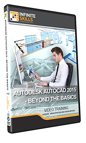 Autodesk AutoCAD 2015 - Beyond The Basics - Training DVD by Infiniteskills