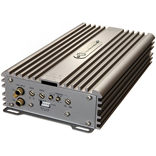 (DLS Reference CC2 2-Channel AB Class 340W RMS Compact Square Car Amplifier)