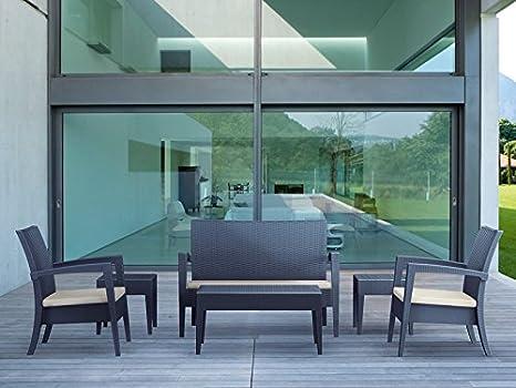 Mobili Da Esterno Design : Clp design mobili da giardino lounge set miami robusta e stabile