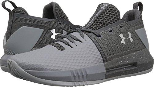 Under Armour Men's UA Drive 4 Low Steel/Graphite/Metallic Silver 8.5 D US