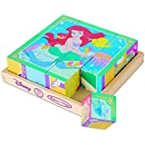 Melissa & Doug - 25764 - Disney Princess Wooden Cube Puzzle