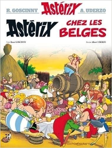 Asterix Asterix Chez Les Belges N 24 Amazon Fr Rene