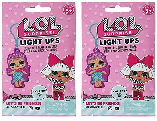 L.O.L Surprise! Light-ups with Sticker Pack - Pack of 2 Blind Bag -