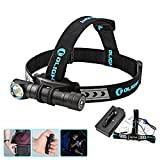 Olight® H2R Nova CW/NW 18650 Rechargeable LED Headlamp 2300 Lumens Versatile LED Illumination Tool with CREE XHP50 LED Multi-Function Waterproof Flashlight for Outdoor Camping Bicycling