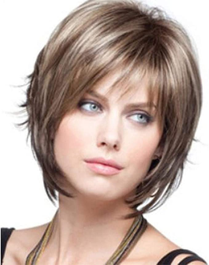 Amazon.com: Cute Short Pixie Wigs with Hair