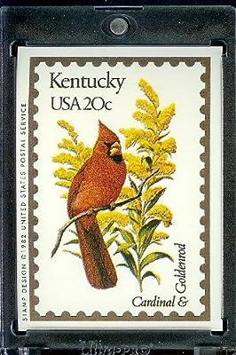 1991 Bon Air #Kentucky Stamp Replica Trading Card #17