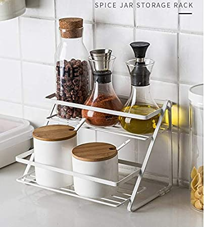 Tanisha S Gallery Kitchen Organiser Kitchen Shelf Kitchen Storage Shelf Organizer Kitchen Rack Two Step Set Of 1