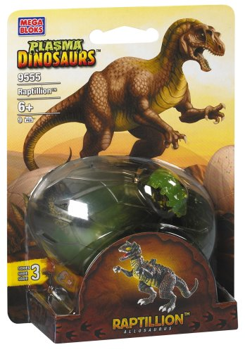 Mega Bloks Plasma Dinosaurs Raptillion Allosaurus 9555 S09555U