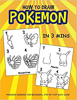 How To Draw Pokemon In 3 Mins Pokemon Drawing For Beginners Step