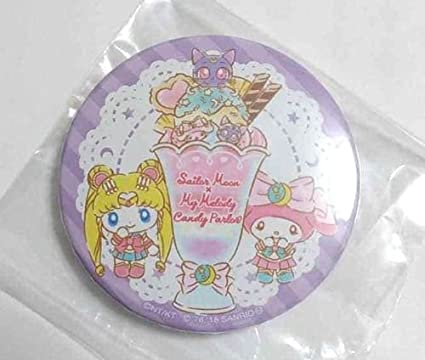 Sailor Moon x My Melody Luna collaboration Plush doll Key chain Pendant toy 2pcs