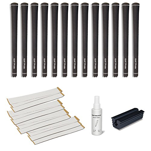 Golf Pride Tour Velvet Undersize 0.580 Ribbed Grip Kit (13-Piece)