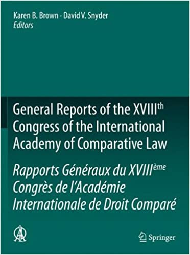 General Reports of the XVIIIth Congress of the International
