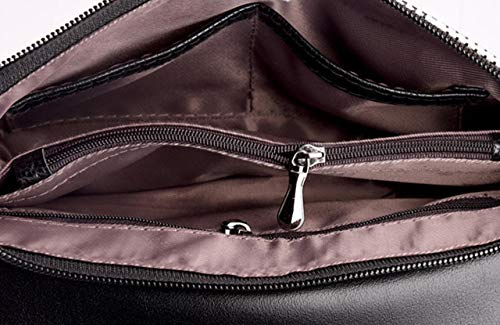 Sac Cuir PU Bandouliere Femme Noir Main Bandoulière à Pochette Pochettes KELUOSI Soirée Pochette 0qwX4OxXZ