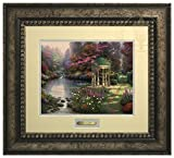 The Garden of Prayer - Thomas Kinkade Prestige Home Collection (Silver Frame)