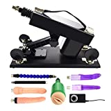Realdios Adjustable Love Sex Machine Gun for Women and Men Couples' Love Sex Masturbation,Automatic Fucking Machine Gun With Dildo Toys(AW4)