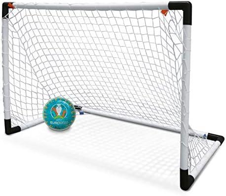 Mondo Toys-UEFA - Mini portería de fútbol para niños con Red balón ...
