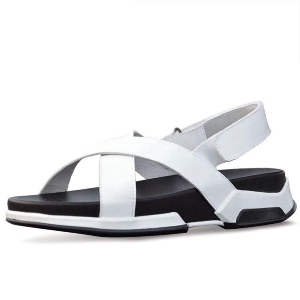 Sandalias Ocasionales De Verano Beach Zapatos De Hombre 37 EU|White