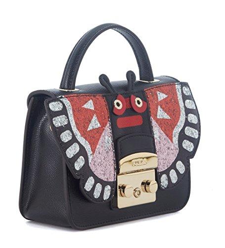 Furla Metropolis Doodle mini handbag multicolor