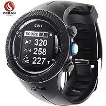 DREAM SPORT GPS Golf Watch Course Rangefinder Measure Shot and Recording Score DREAM SPORT DGF301 (Black)