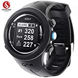 DREAM SPORT GPS Golf Watch Course Rangefinder Measure Shot and Recording Score DREAM SPORT DGF301 (Black)