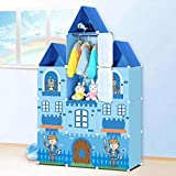 Prince Castle Wardrobe By House of Quirk DIY Cabinet Hanger Wardrobe for Kids