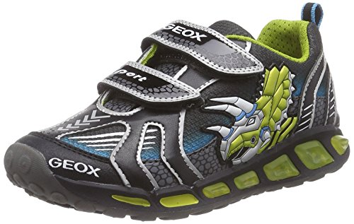 J black Geox A Boy Para Lime Multicolor C0802 Zapatos Niños Shuttle 6xxwZd