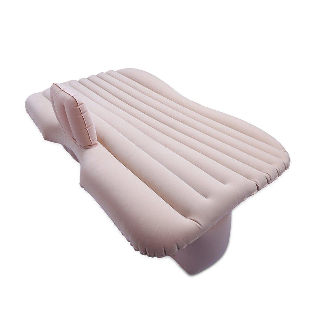 Ye Auto Matratze Auto Luft Bett Multifunktionale Reise Camping Auto Hinten Sitz Aufblasbare Matratze Für Reise und Schlaf Rest (Luft Bett × 1 Kissen × 2 Auto Luftpumpe × 1)
