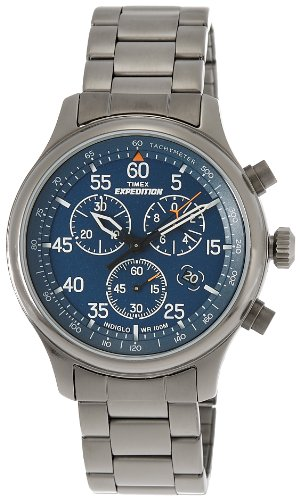 Timex Expedition Analog Blue Dial Unisex Watch   T49939