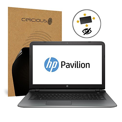 Celicious Privacy Plus HP Pavilion 17 AB200NA 4-Way Visual Black Out Screen Protector by Celicious