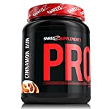 Whey Protein Powder, Cinnamon Bun, 2 Pound for Mass and Lean Muscle Best Tasting offers
