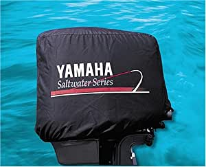 Yamaha deluxe outboard motor cover saltwater series for Yamaha boat motor covers